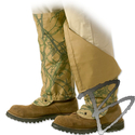 Image Turtleskin Snake Gaiters, Reversible