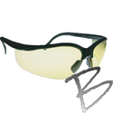 Image 3A Safety Thunder Black Matte Frame Safety Glasses (3 Colors Avail.)
