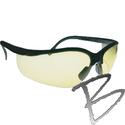 Image 3A Safety Thunder Black Matte Frame Safety Glasses (3 Colors Avail.)