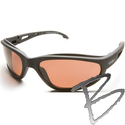 Image Edge Eyewear Dakura Polarized Safety Glasses, Copper