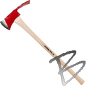 Image Council Tool Pulaski Axe 36in Hickory Handle, 3.75lb or Replacement Handle