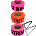 Image Presco Printed Roll Flagging Tape