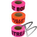 Image Presco Printed Roll Flagging Tape