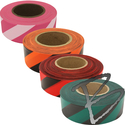 Image Presco Coarse Matte Striped Roll Flagging Tape