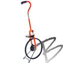 Image Keson Electronic 4-ft Metal Professional Measuring Wheel, Digital