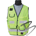 Image SECO Heavy-Duty Safety Utility Vest, Denier Cordura