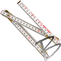 Image Lufkin 2M Wood Folding Ruler