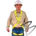 Image FCP Full Body Harness, Cross Chest Design, Front & Back D-Rings