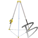 Image FCP Confined Space System w/Self-Retracting 50' Galvanized Wire Rope*