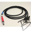 Image Direct Download Data Cable, DB-9 pin Female to 7 pin Male Lemo