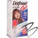 Image Tec Labs Licefreee! Gel Lice Killing Gel Kit w/Metal Comb and Root Applicator