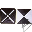 Image Mutual Industries Bulls-Eye & Iron Cross Pre-made Aerial Targets, 6-mil Vinyl