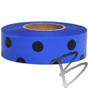 Image Presco Coarse Matte Polka Dot Roll Flagging Tape