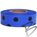Image Presco Coarse Matte Polka Dot Roll Flagging Tape