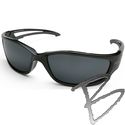 Image Edge Eyewear Kazbek XL Safety Glasses
