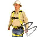 Image FCP Full Body Harness w/ shoulder pads & hip positioning D-rings*