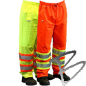 Image Dicke Safety Products ANSI Class E Pants, Solid Top, Mesh Bottom