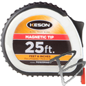 Image Keson Magnetic Tip 25ft Pocket Tape (Inches ONLY)