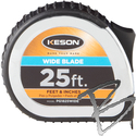 Image Keson Wide Blade 25ft Pocket Tapes, 1-3/16th