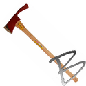 Image Pulaski Axe 36-inch, 3.75lb, Hickory Straight Handle & Replacement Handle