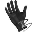Image SemperForce Black Nitrile Gloves Powder-Free