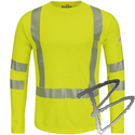Image Bulwark FR Hi-Vis FR Long Sleeve T-Shirt - Power Dry® FR