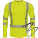 Image Bulwark FR Hi-Vis FR Long Sleeve T-Shirt - Power Dry® FR