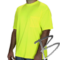 Image Dicke Safety Products T-Shirt, Wicking Polyester, w/ Pocket (2 Colors Available)