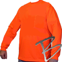 Image Dicke Safety Products Long Sleeve, Wicking Polyester, w/ Pocket (2 Colors Avail)