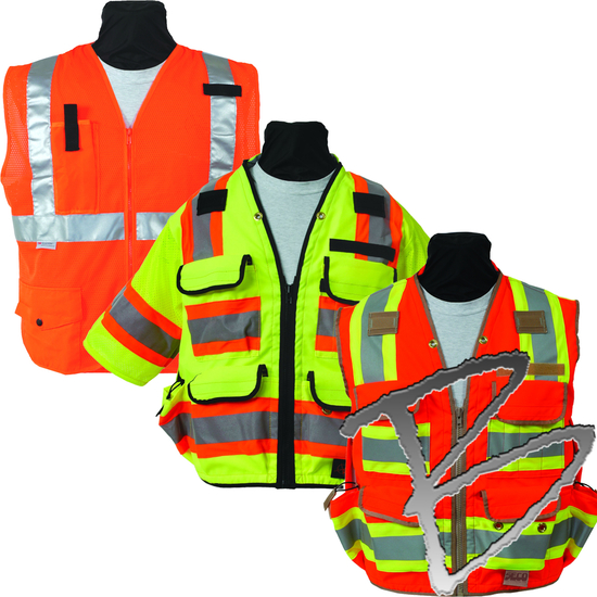 Seco Surveying Equipment Surveyor Supplies Seco Safety Vests