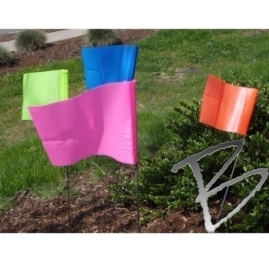 Pin Flags & Marking Flags for Land Surveyors